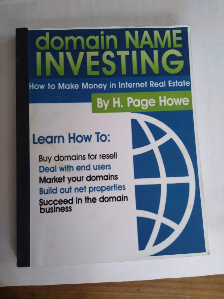 Page Howe's Domain Investing Book