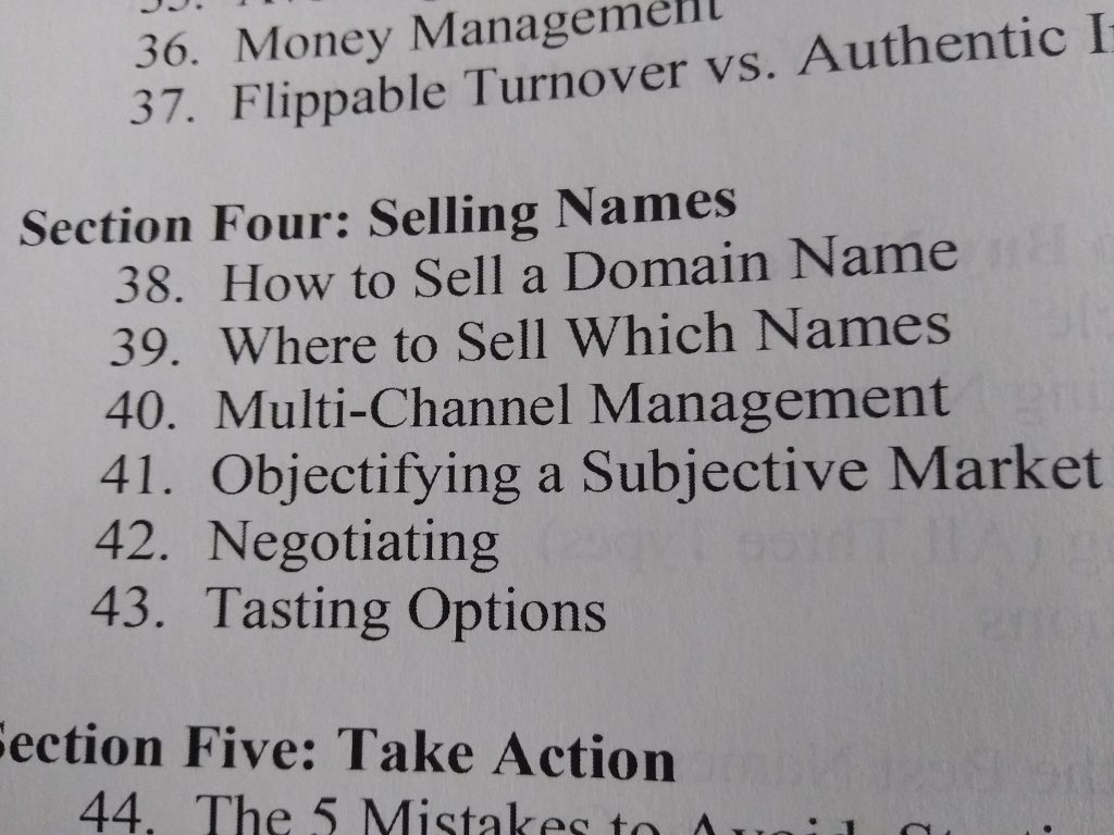 Domain Investing Book