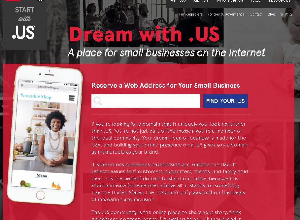 .US Domain marketing Marketing