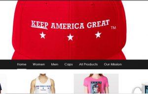 Screenshot for Keep America Great.